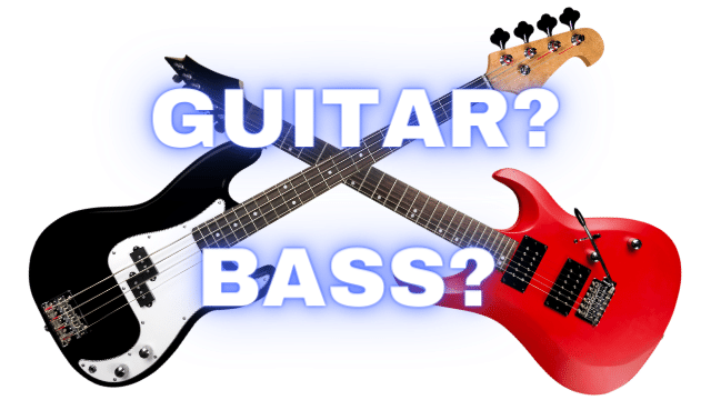 What is the Difference Between Guitar and Bass