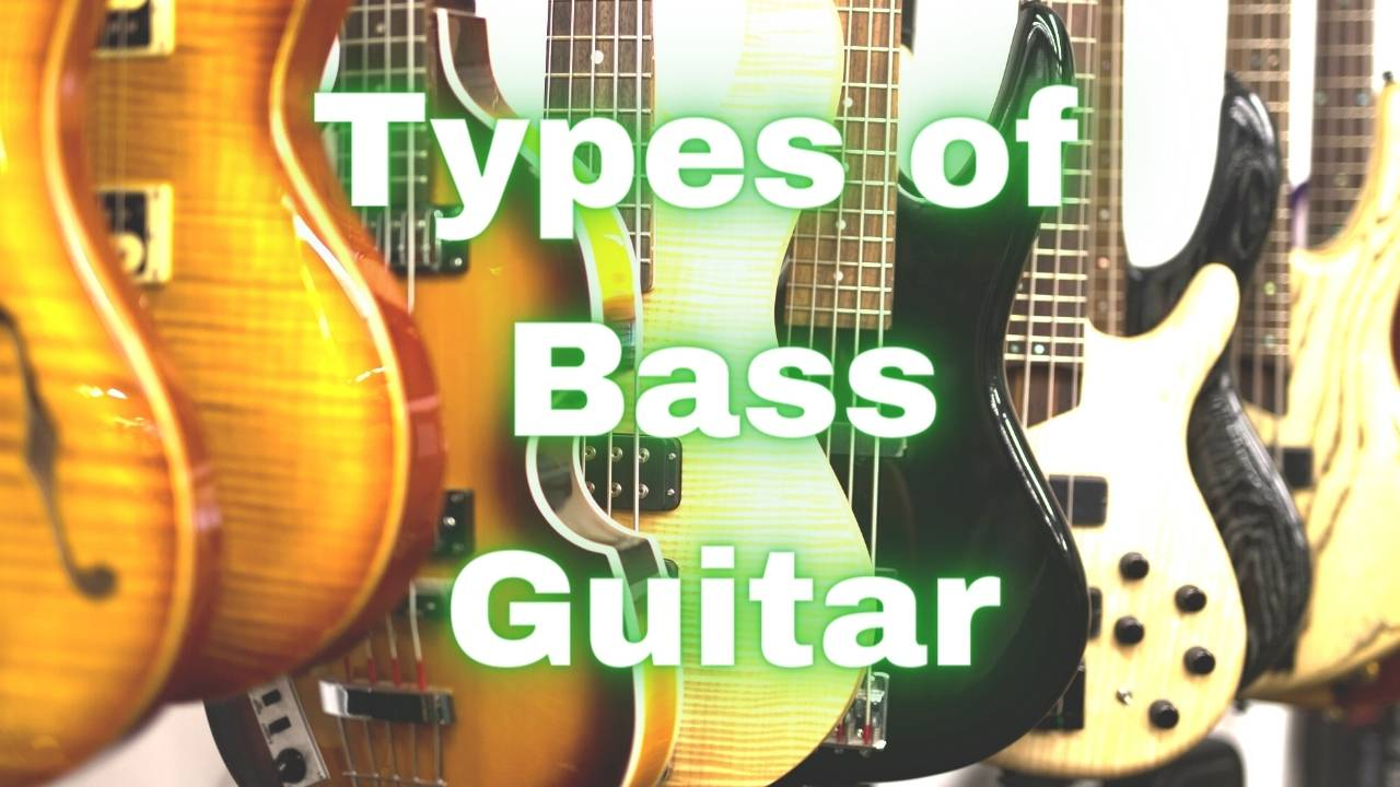 different types of basses