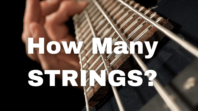 how many strings does a bass guitar have
