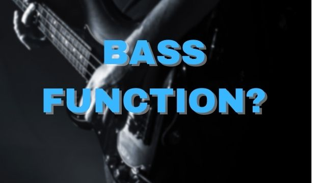 bass guitar function