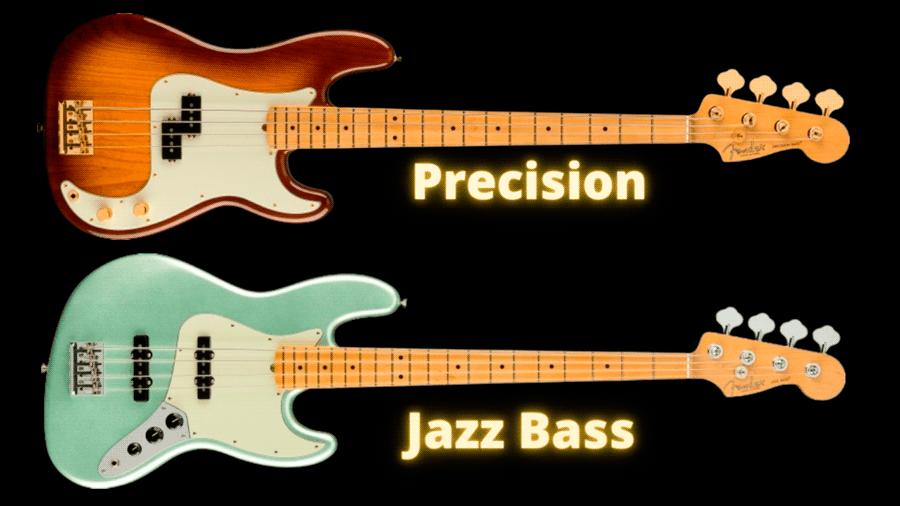 Precision Bass vs Jazz Bass